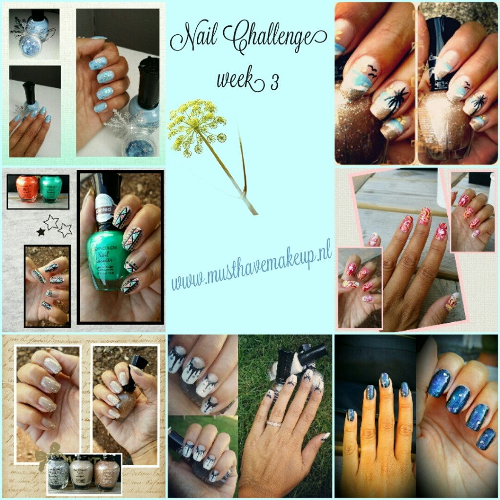 Week 3 van de 31 Day Nail Challenge