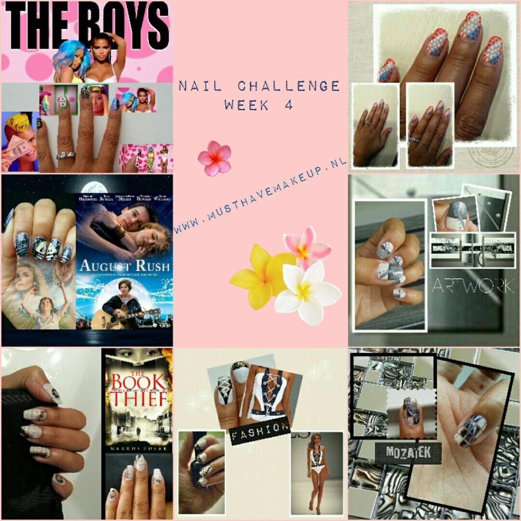 Week 4 van de 31 Day Nail Challenge