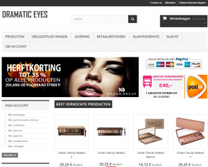 Dramatic Eyes - De site