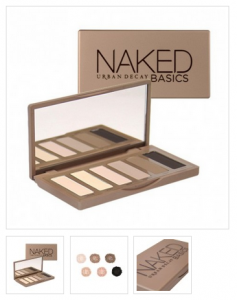 Dramatic Eyes - Urban Decay Naked Basics