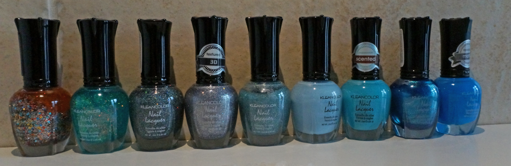 Kleancolor Blauw Tinten