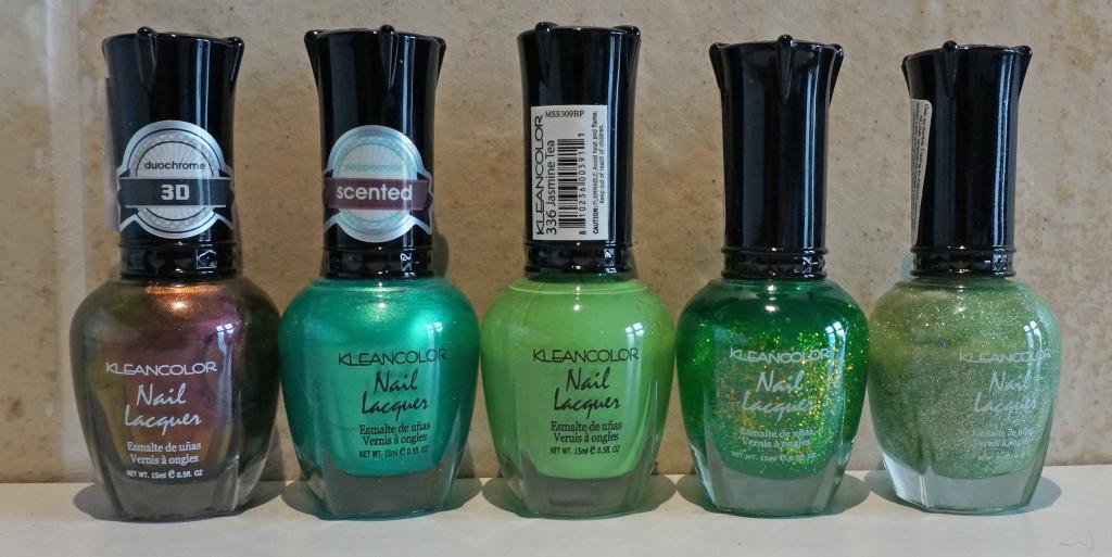 Kleancolor Groen Tinten