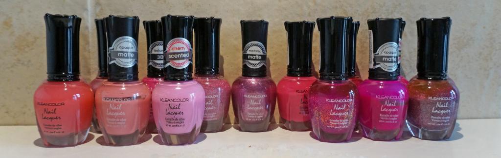 Kleancolor Roze Tinten