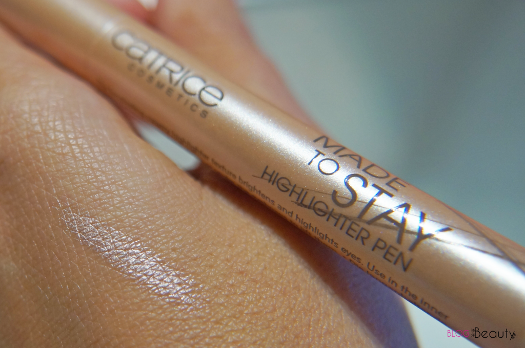 Catrice - Made To Stay - Highlighter pen Swatch