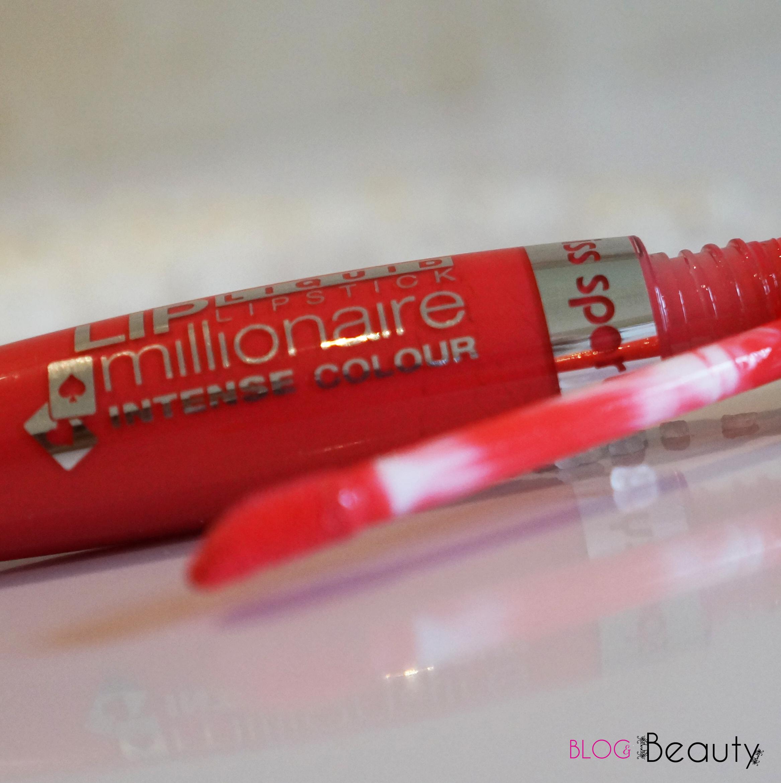 Miss Sporty Lip Millionaire Liquid Lipstick Full Red