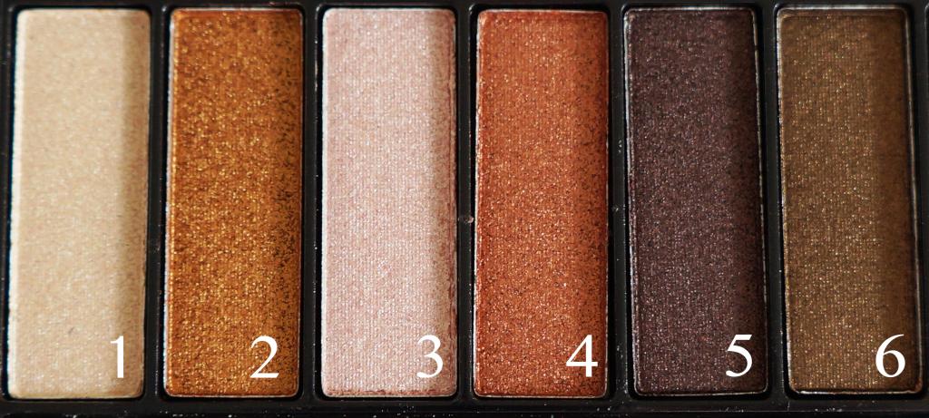 Saffron palette 1-6