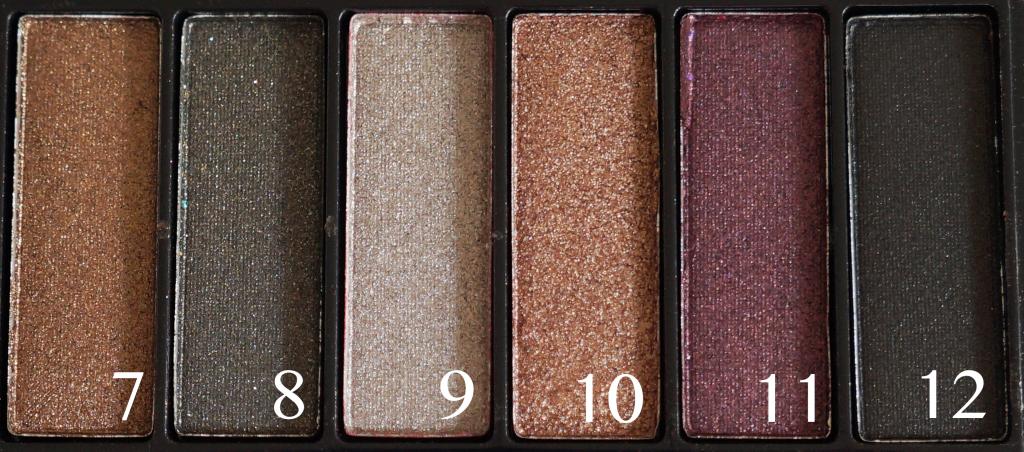 Saffron palette 7-12