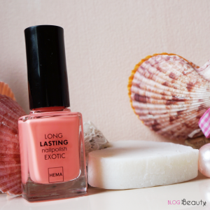 Hema Long Lasting Nailpolish Exotic Swatch Peach