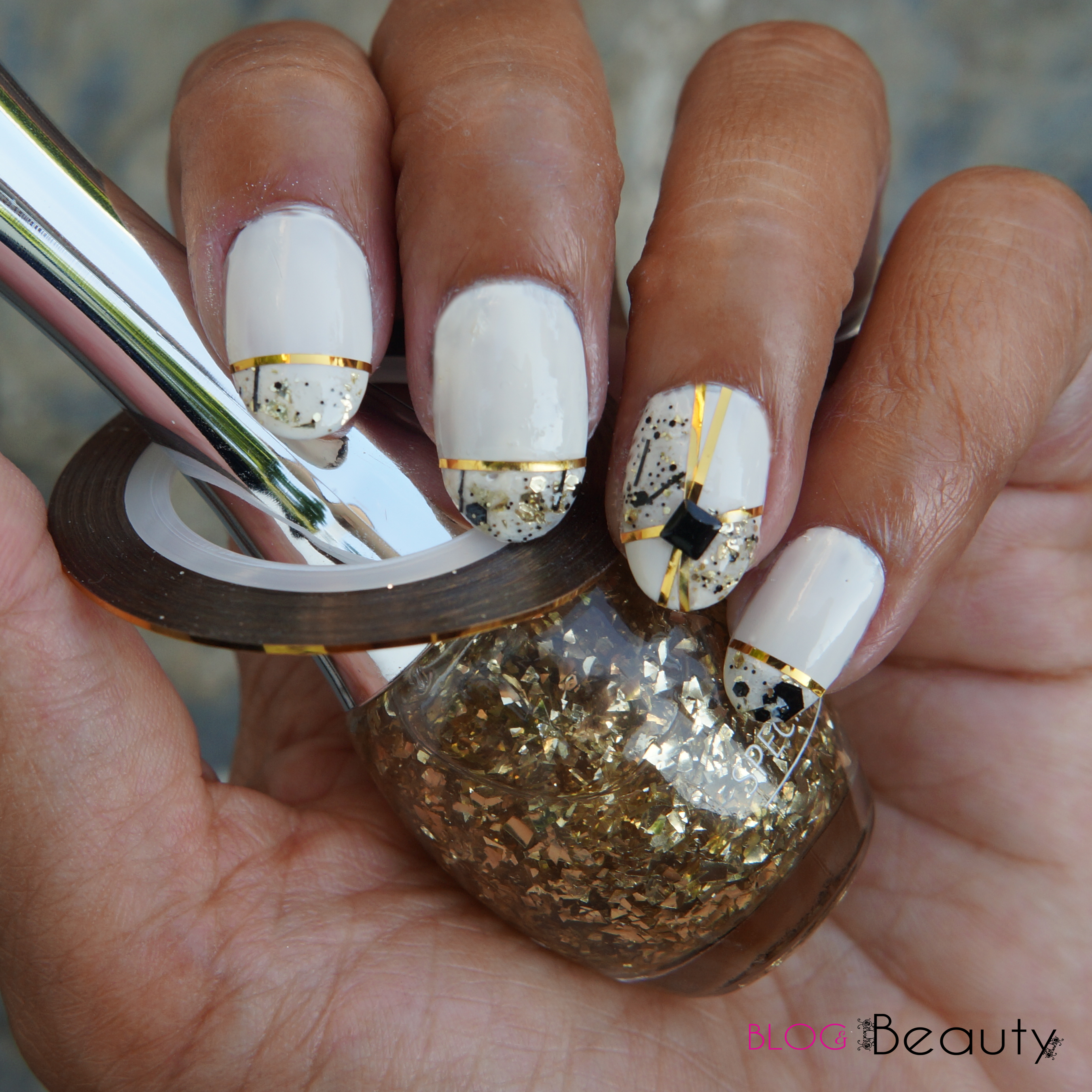 Nailscene Stripingtape Nail Art Tutorial Blog Beauty