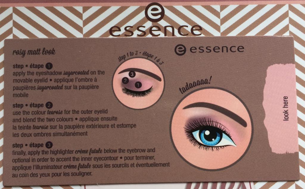 Essence How To Make Matt Eyes Rosy Matt Look
