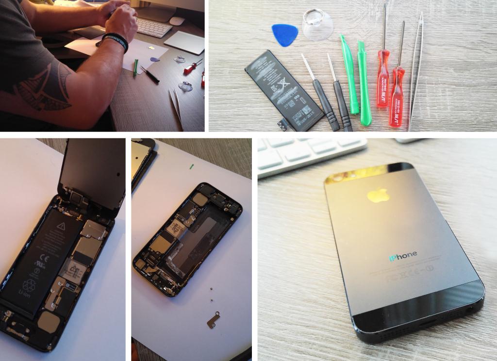 GSM Batterij tools