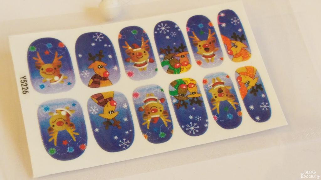 Nailbox Rendier Stickers