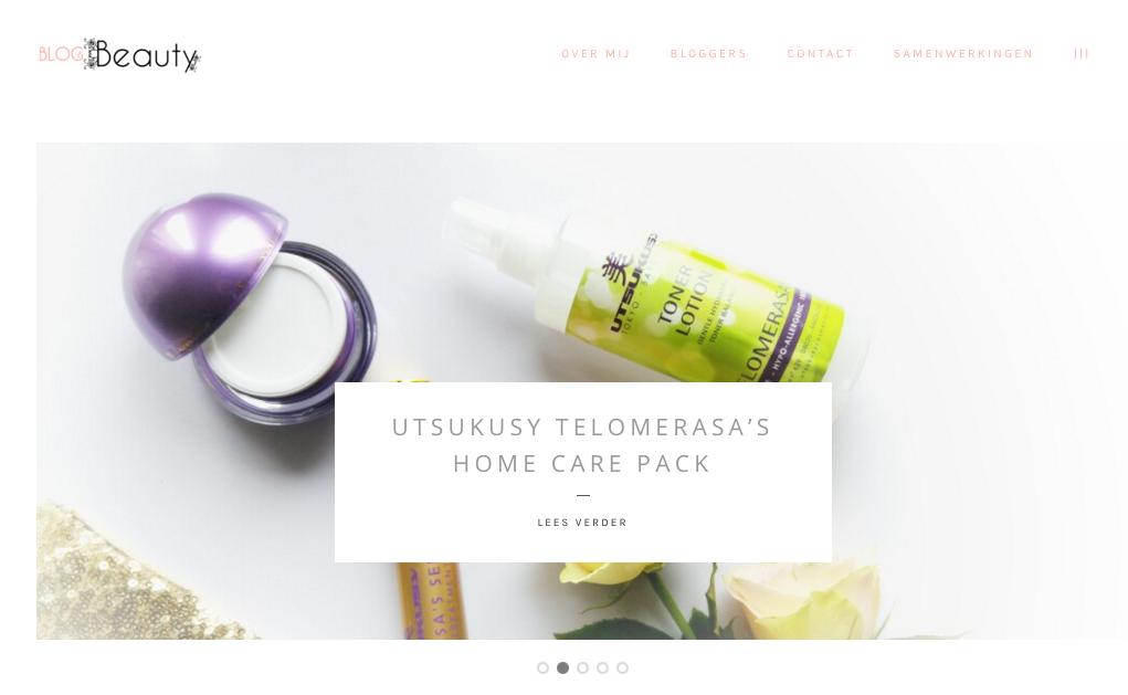 Blog & Beauty Header en logo