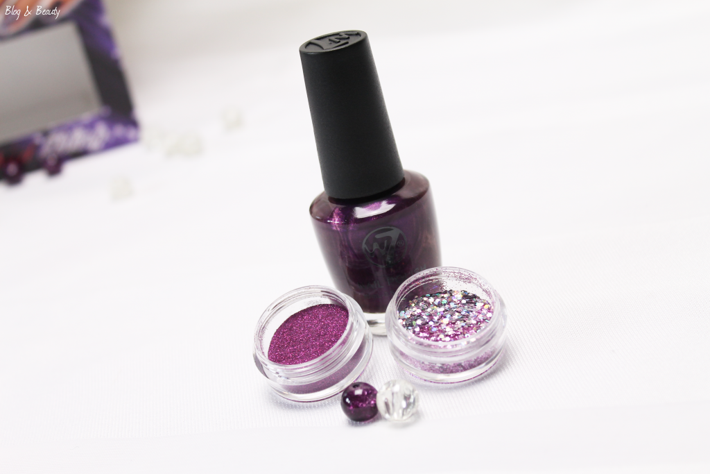 W7 Nail Bling Purple Point 5