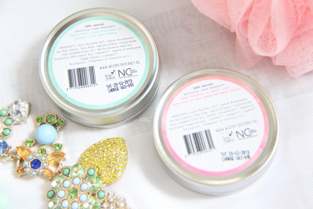 We Love Deodorant Ingredienten