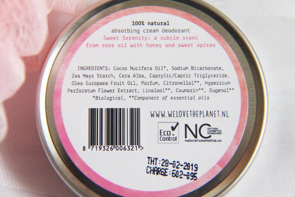 We Love Deodorant Sweet Serenity Ingr 1