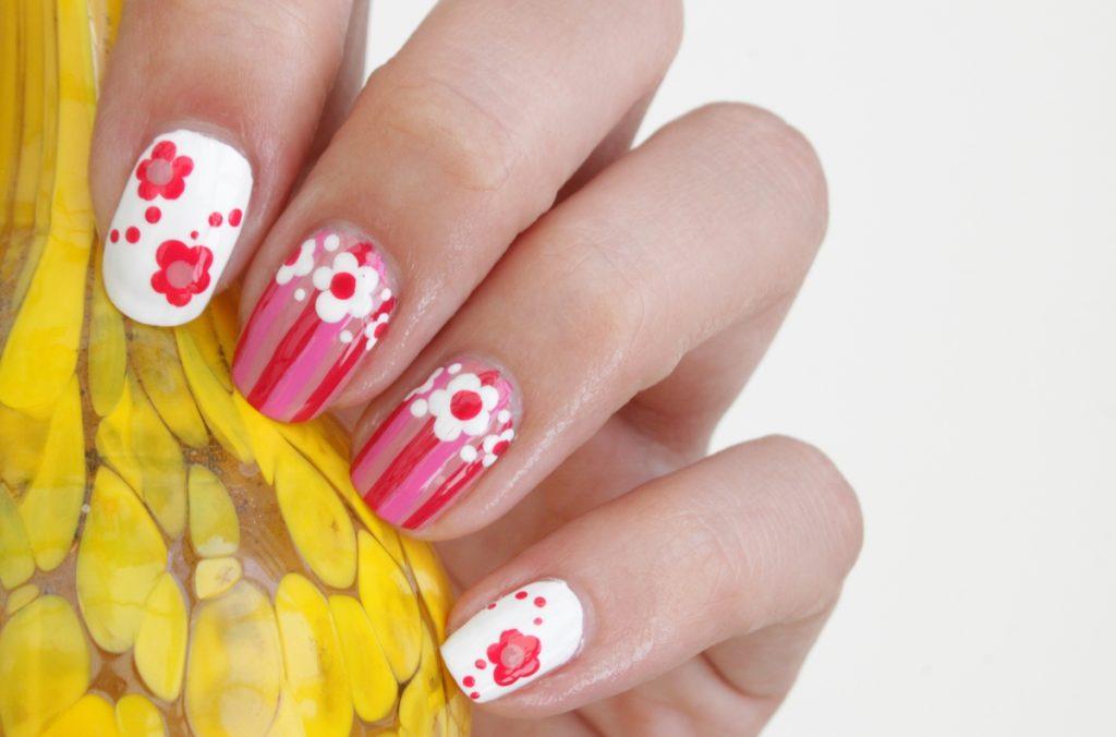 Patroon nail art Lotsoflocks