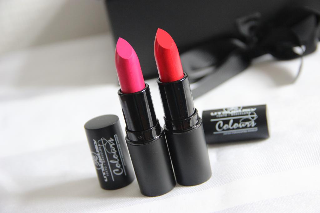 Utusukusy Lippenstift Rood en Roze 5