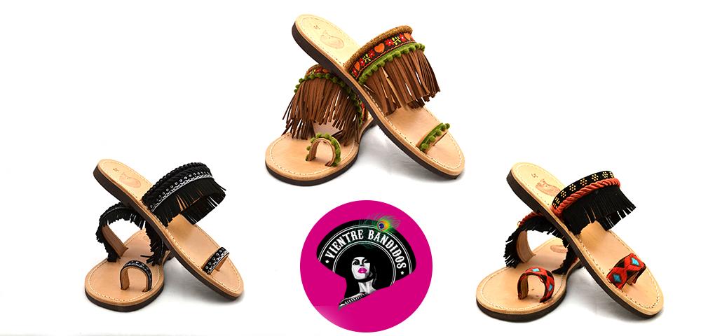 Vientre Bandidos Bohemian Slippers