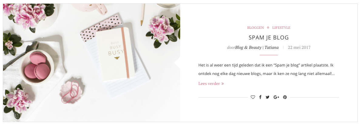 Een nieuwe layout blog beauty - Layouts hoogte ...