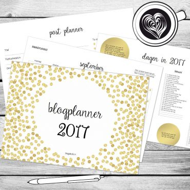 Blogplanner Blogoholic